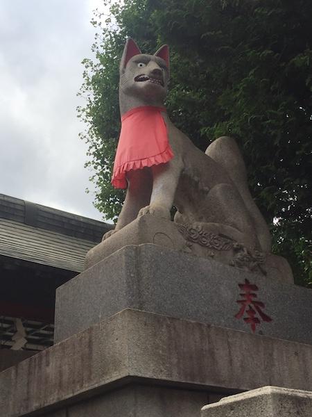 京浜伏見稲荷神社 狐