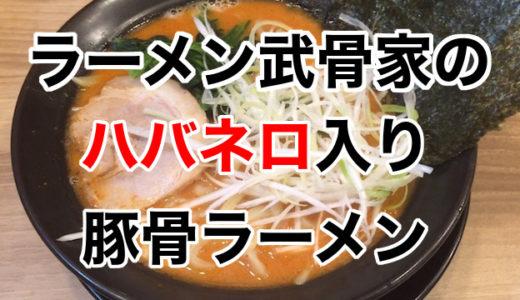 相模大野の横浜家系ラーメン「武骨家」でハバネロ入り豚骨辛味噌ラーメンを実食!
