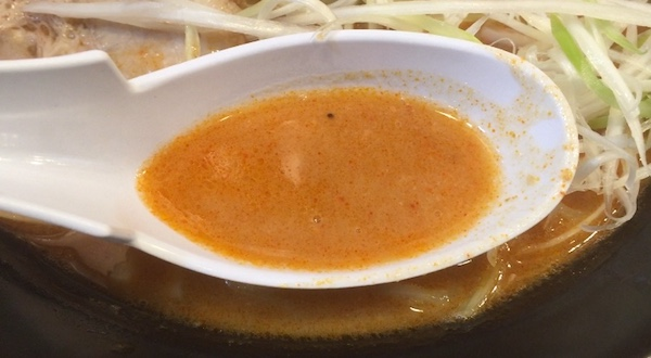 相模大野の横浜家系ラーメン「武骨家」でハバネロ入り豚骨ラーメンを実食!