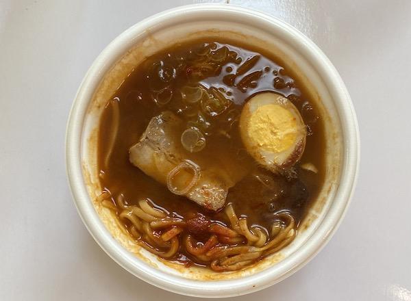 ローソン限定のレンジ麺「辛辛魚」を実食!カップ麺との違いは?どっちがおいしい?
